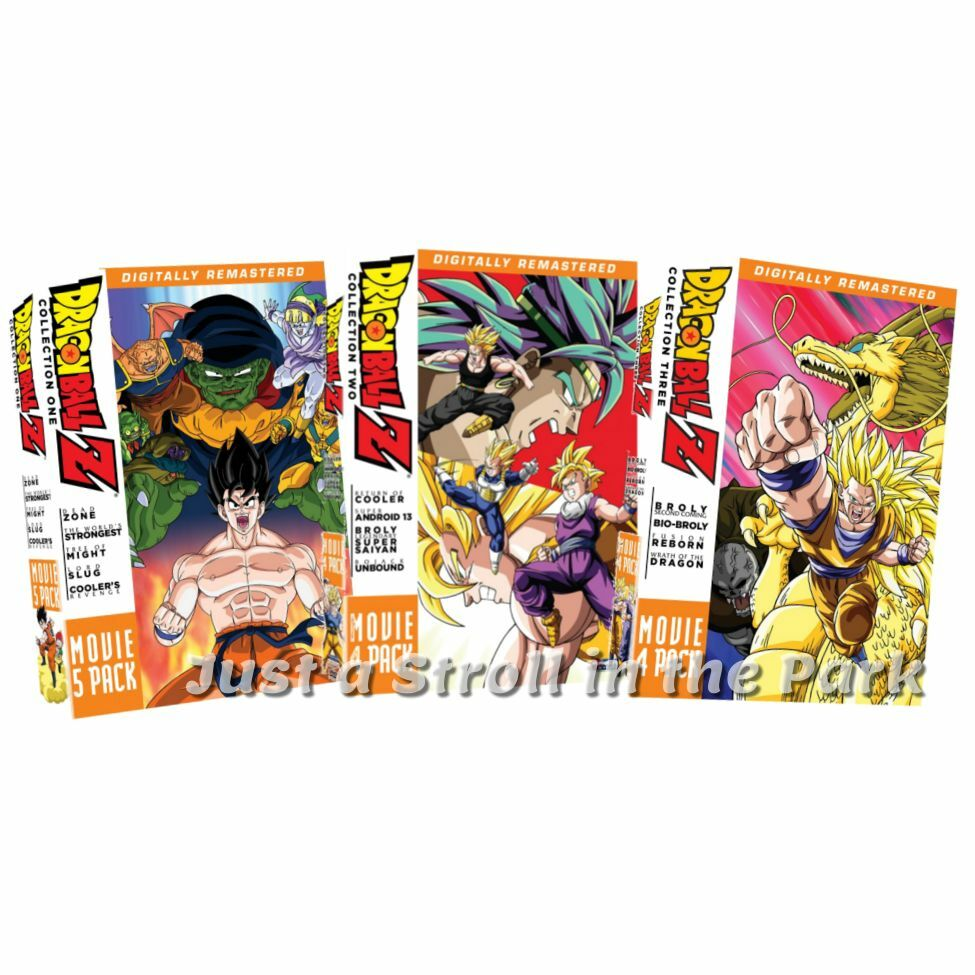 Dragon Ball Z: 13 Complete Movies, DVD Film Series Collection, Boxed Set(s) NEW!