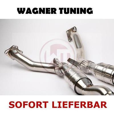 WAGNER TUNING - Downpipes Hosenrohre EVO 1 - AUDI RS4 2,7l Biturbo - NEU