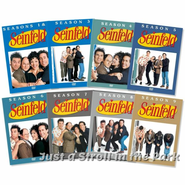 Jerry Seinfeld Complete TV Series Seasons 1 2 3 4 5 6 7 8 9 Box / DVD Set(s) NEW