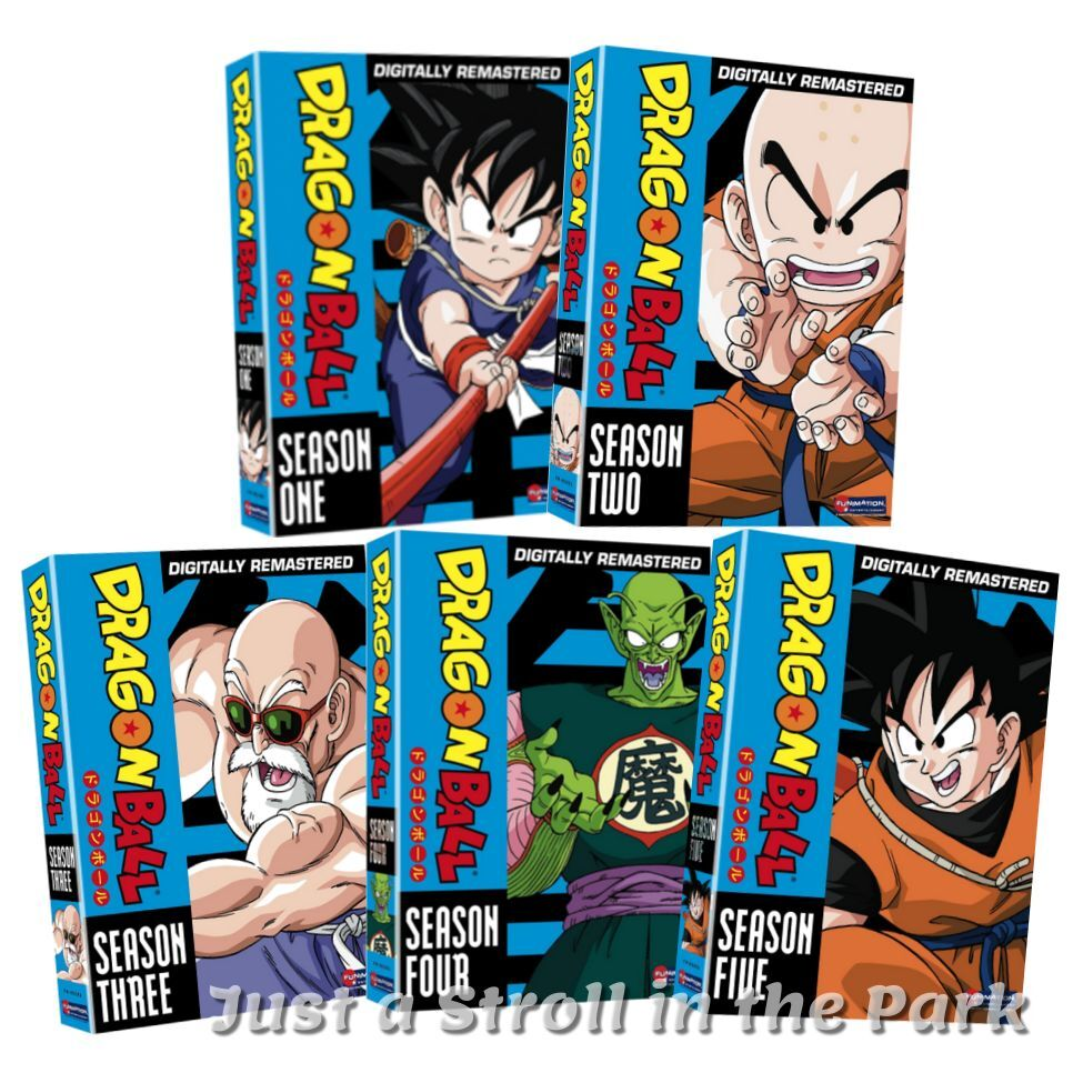 DragonBall Dragon Ball Complete Series Seasons 1 2 3 4 5 Box / DVD Set(s) NEW!