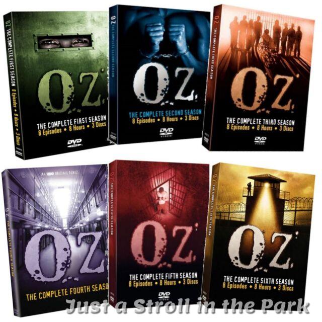 Oz: Complete Kirk Acevedo HBO TV Series Seasons 1 2 3 4 5 6 Box / DVD Set(s) NEW