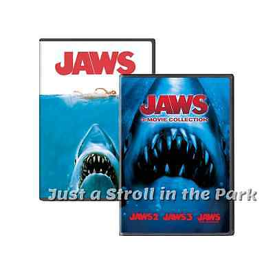 Jaws  Complete Movies Series 1 2 3 4 The Revenge Box   Dvd Set S  New