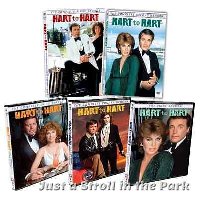 Hart to Hart: Complete Robert Wagner TV Series Seasons 1 2 3 4 5 Box/DVD Set(s)