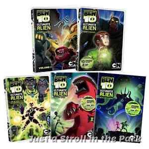 Ben 10 Ultimate Alien TV Series Complete Volumes 1 2 3 4 5 Box / DVD Set(s) NEW!