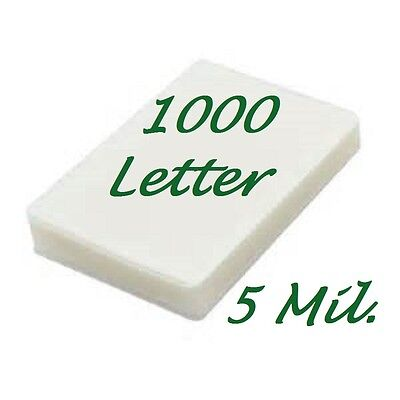 Letter Laminating Pouches Laminator Sheets 1000 9 X 11 5 5 Mil Scotch Quality