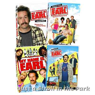 My Name Is Earl  Complete Jason Lee Tv Series Seasons 1 2 3 4 Box   Dvd Set S