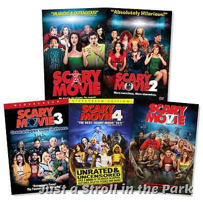 Scary Movie  The Complete Movie Collection 1 2 3 4 5 Box   Set S  Dvd New