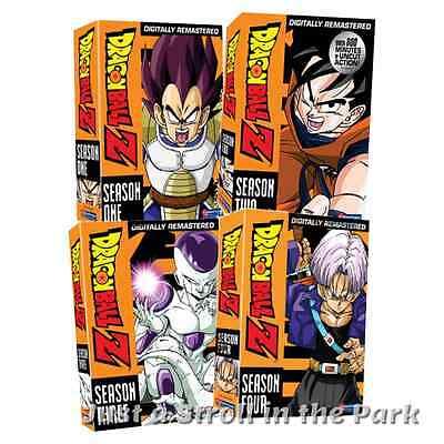 Dragonball Dragon Ball Z  Anime Series Complete Seasons 1 2 3 4 Box Dvd Sets New
