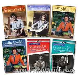 The french chef with julia child tv series complete classics box dvd set s new ebay - Julia child tv show ...