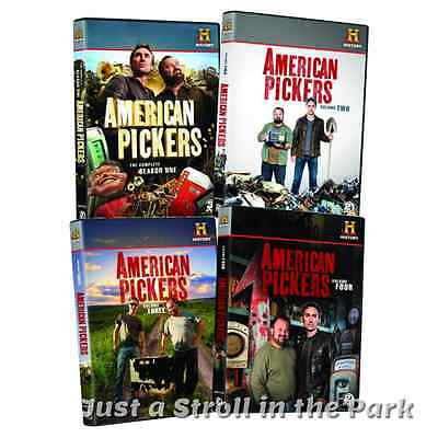 American Pickers  Tv Series Complete Season 1   Volumes 2 3 4 Box Dvd Sets New