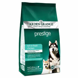 Arden Grange Prestige - rich in fresh chicken 12kg CHEAPEST ANYWHERE (INC EBAY)!