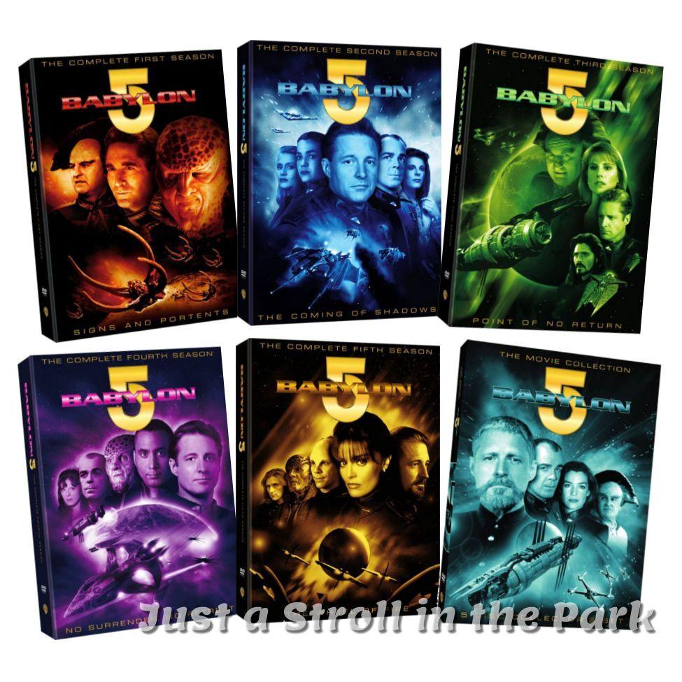 Babylon 5: Complete TV Se....<br>