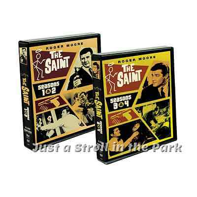 The Saint  Classic 1960S Roger Moore Series Complete Season 1 2 3 4 Dvd Box Sets
