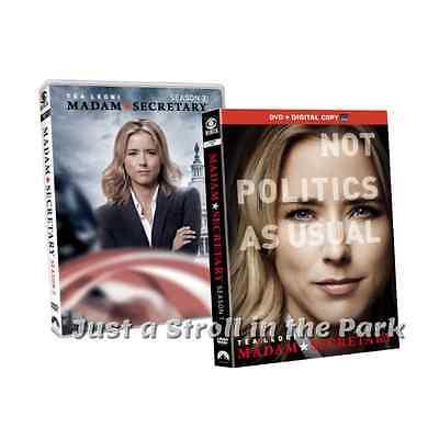 Madam Secretary Complete Series Seasons 1   2 Tea Leoni Box   Dvd Set S  New