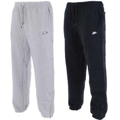 Nike Mens Joggers Fleece Sweatpants Jog Gym Running Ankle Zip Tracksuit Bottoms
