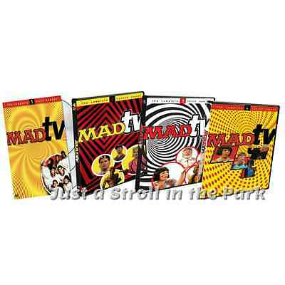 Madtv Mad Tv Comedy Central Series Complete Seasons 1 2 3 4 Box   Dvd Set S  New
