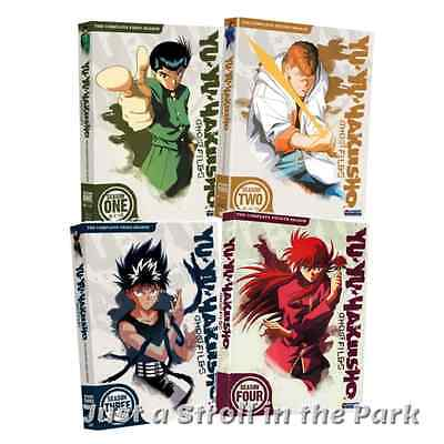 Yu Yu Hakusho Ghost Files: Complete Anime Series Seasons 1 2 3 4 Box/DVD Set(s)