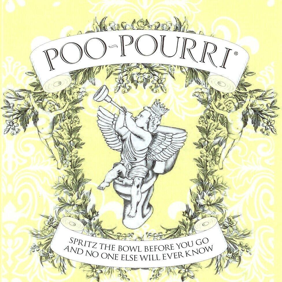POO-POURRI Before-You-Go Natural Bathroom Toilet Spray --- C