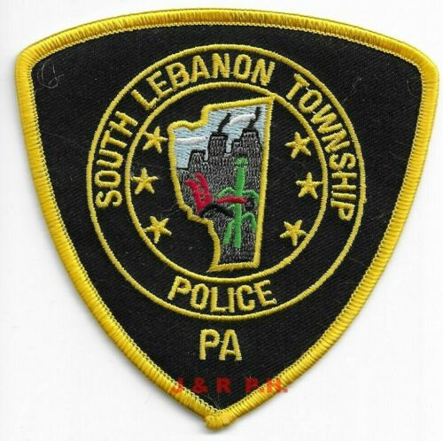 "*NEW*  Soutn Lebanon Township, PA (4"" x 4"" size) shoulder police patch (fire)"