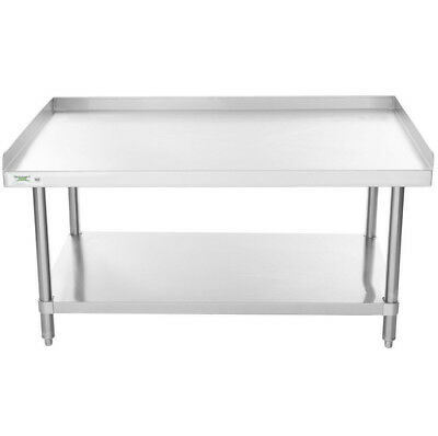 All Stainless Steel 30 X 48 Table Commercial Equipment Mixer Stand Work Prep