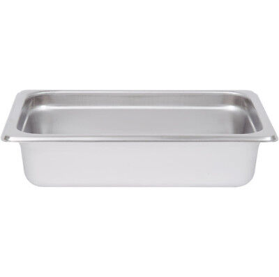 4 Pack 14 Size Stainless Steel 2 12 Deep Steam Prep Table Food Pan Salad Bar