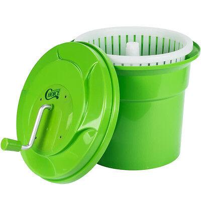 5 Gallon Manual Salad Spinner Lettuce Dryer Washer Large Commercial Restaurant