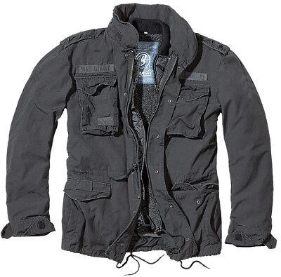 (Brandit® US Army M-1965 M65 GIANT Military Warm Lining Field Mens Jacket - Black)