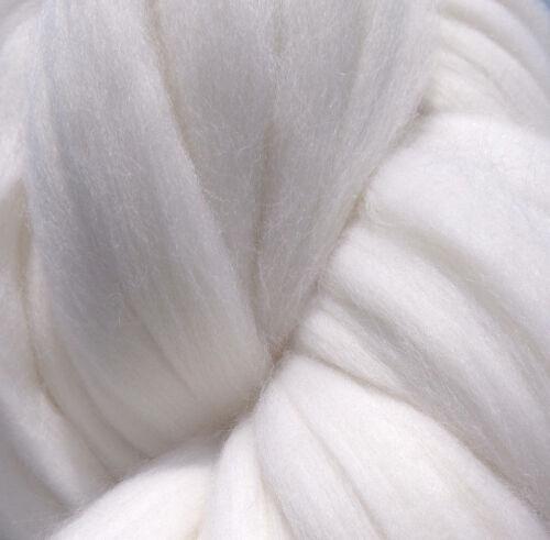 White Wool Roving, Rove, Wool Rove, Spinning Wool, Felting Wool, Wool Fiber