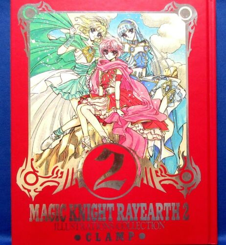 CLAMP Magic Knight Rayearth 2 Illustrations Collection /Japanese Art Book
