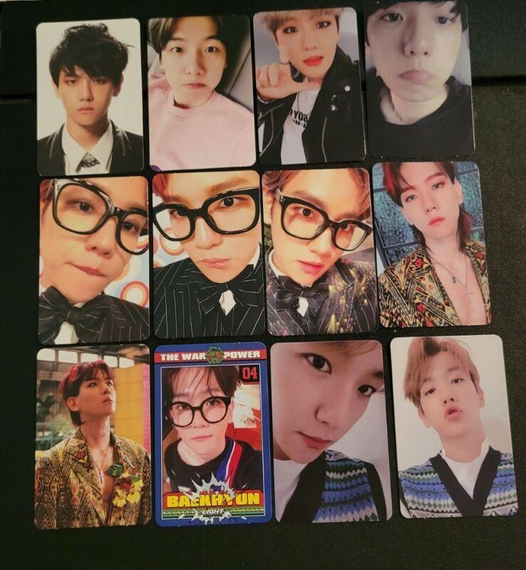EXO Baekhyun Official Photocards