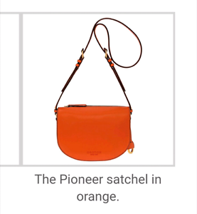 oroton pioneer satchel leather crossbody bag Sunnybank Hills Brisbane South West Preview
