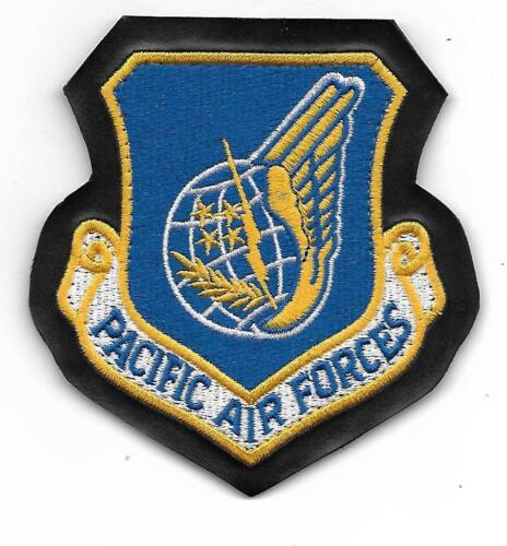 AIR FORCE PACIFIC AIR FORCES PACAF LEATHER HOOK LOOP PATCH