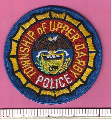 Upper Darby Twp. Pa State Pennsylvania Police Shoulder Patch - Delaware County