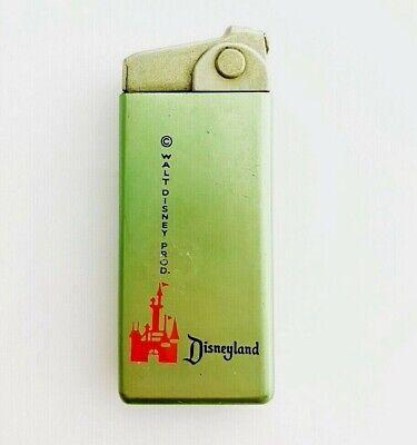 50's ESPRIT 2000 Walt Disney Productions DISNEYLAND Green Semi Automatic LIGHTER