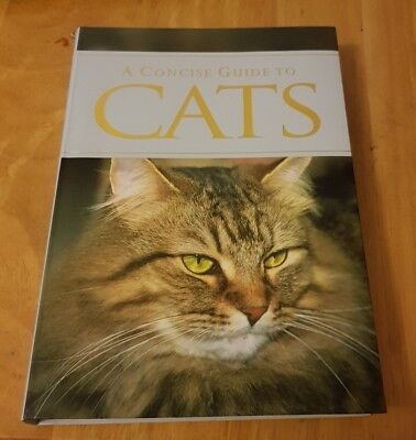 CONCISE GUIDE TO CATS BOOK BRAND NEW PRESENT