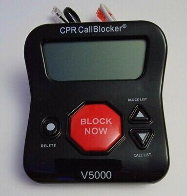CPR Phone Call Blocker V5000 All in One Call Blocker Robocalls Landline