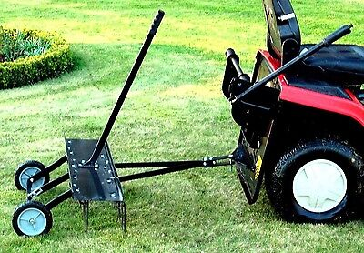 Rasenkamm Entmooser Vertikutierer Rasenlüfter für Aufsitzmäher Rasentraktor Neu