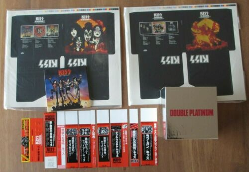 KISS- PROMO BOX SET DISK UNION LIMITED EDITION JAPAN 2006 FOR CARDBOARD MINI LPs