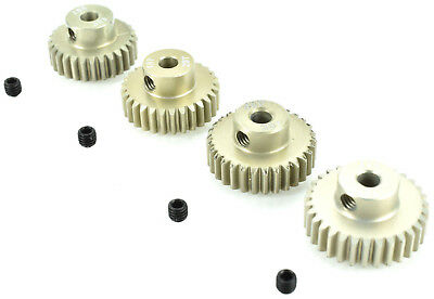Apex Rc Products 48 Pitch 28T 29T 30T 31T Aluminum Pinion Gear Set  9753