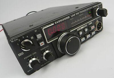 Kenwood Tr-8400 Uhf 430-440 Mhz Mobile Radio - Uhf Fm Transceiver - Radio Only