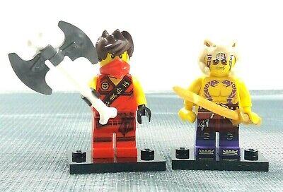 Lego Minifigures Ninjago 70752 Kai (njo117) and Krait (njo120)