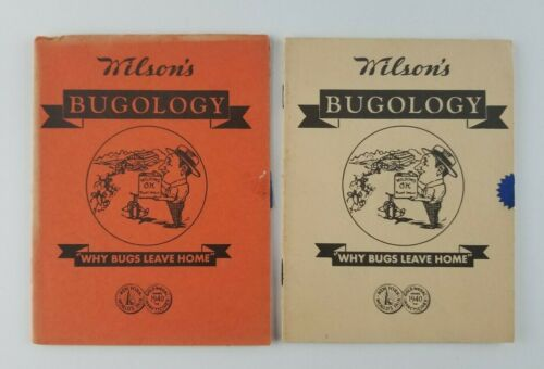 Wilsons Bugology Insecticides 1942 Advertisement Booklet Springfield New Jersey