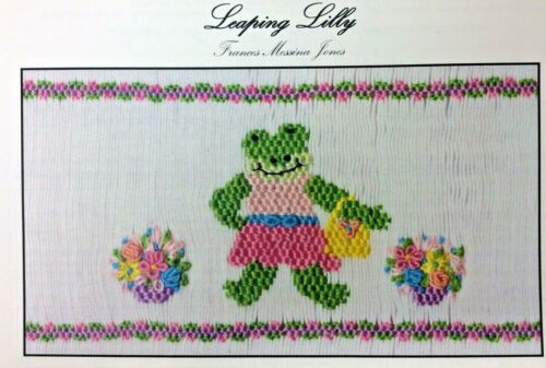 FRANCES MESSINA JONES SMOCKING PLATE- LEAPING LILLY