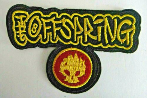 The Offspring Logo Embroidered Patch -New