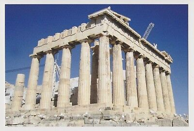 - Postcard ACROPOLIS ATHENS GREECE Parthenon VIEW 2010 Color Souvenir Post Card