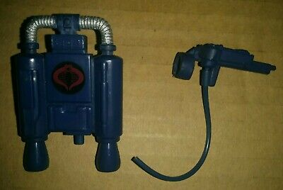 Vintage G.I. Joe Action Force Backpack and Weapons Bundle spares