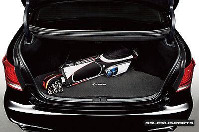 """Lexus LS460 LS460L (Without Rear Cool Box) OEM Genuine CARPET TRUNK MAT """"Black"""""""
