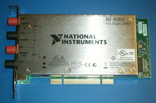 NI PCI-4065 6½-Digit DMM Digital Multimeter, National Instruments *Tested*