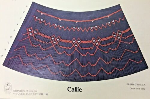 MOLLIE JANE TAYLOR SMOCKING PLATE -CALLIE