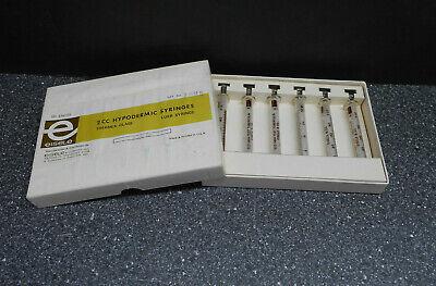 Eisele 1222 Thermex Glass 2cc Eco High Test Tuberculin Syringes 6box